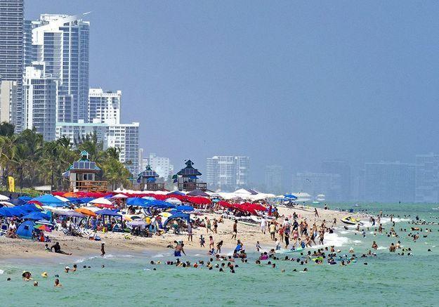 Covid à Miami, la ville du déni