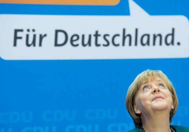 La réélection d'Angela Merkel