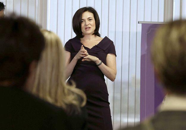 Sheryl Sandberg guide les femmes