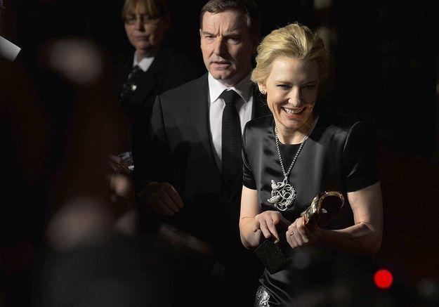 Cate Blanchett récompensée