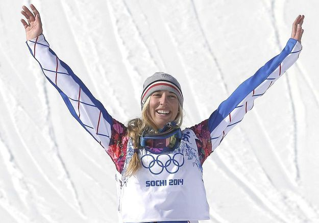 Chloé Trespeuch, jeune médaillée olympique