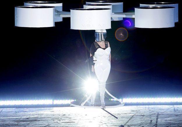 Lady Gaga s'envole
