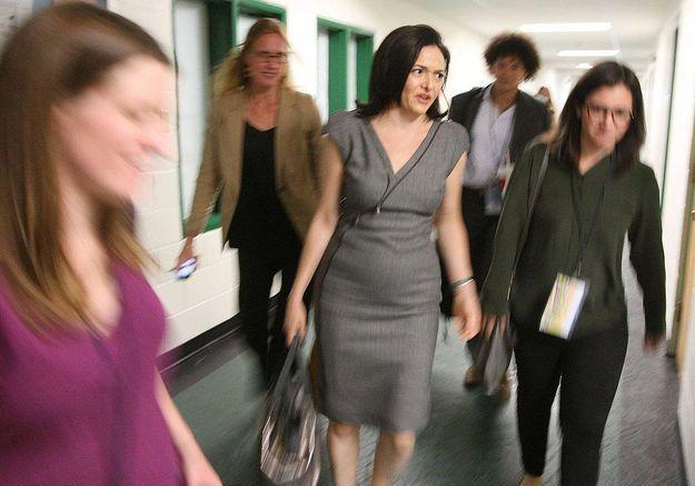 Sheryl Sandberg, nouvelle milliardaire