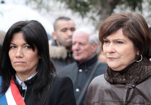 La bataille électorale de Samia Ghali et Marie-Arlette Carlotti