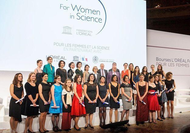 Les 25 boursières des Femmes et la Science