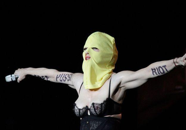 Madonna,marraine des Pussy Riot