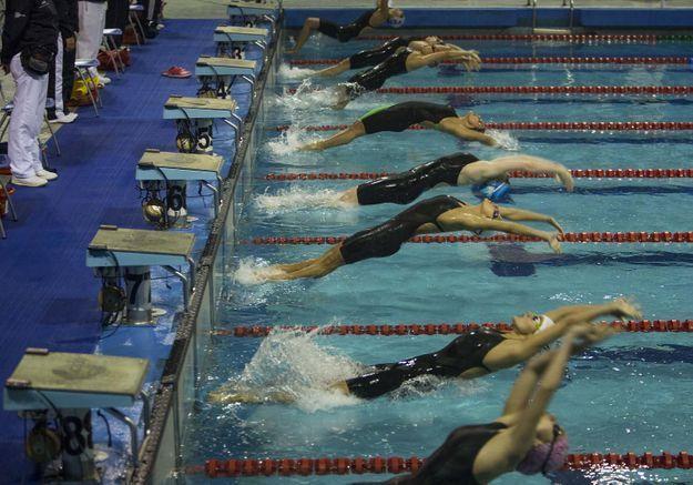 A 10 ans, elle participe aux Championnats du monde de natation