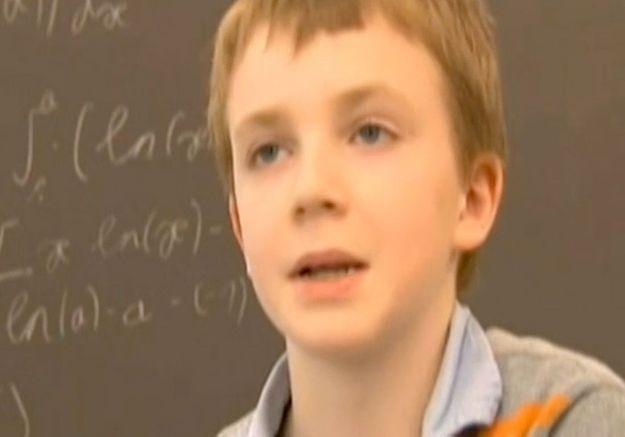 A 10 ans, il entre (presque) à la fac