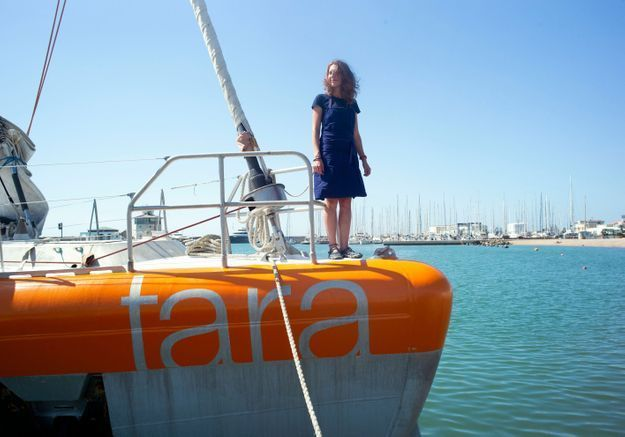 À bord du « Tara », avec les héroïnes anti-plastique