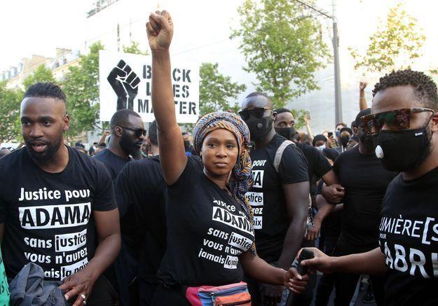 Assa Traoré: «Emmanuel Macron doit affirmer que l'impunité policière, c'est fini.»