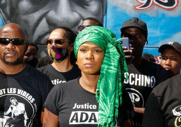 Assa Traoré récompensée pour son « engagement pour le bien-être de la communauté noire mondiale », lors des BET Awards