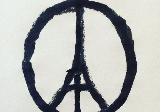 « Peace for Paris » de Jean Jullien