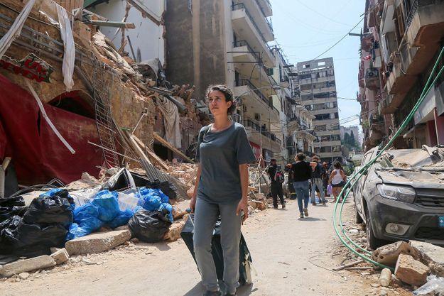 Beyrouth : Diane Mazloum raconte ce bruit qui ne la quittera plus jamais
