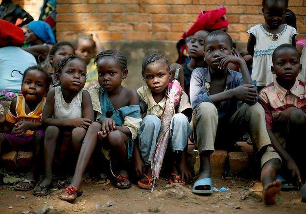 Centrafrique : les enfants victimes des affrontements