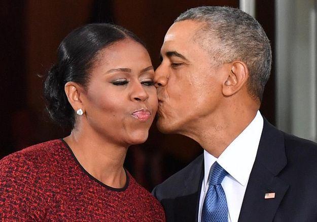 Cette déclaration d'amour de Michelle Obama à Barack va vous faire fondre