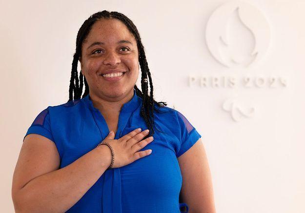 Chanter en langue des signes : Betty Moutoumalaya, l'interprète de la Marseillaise aux JO