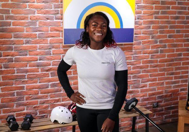 Clarisse Agbegnenou, judokate et gendarme : « J'aimerais qu'on dise que je suis le Teddy Riner féminin »