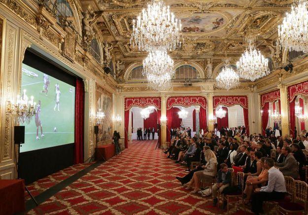 Coupe du monde : des équipes féminines invitées à l'Elysée