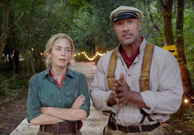 Emily Blunt payée deux fois moins que Dwayne 'The Rock' Johnson dans un prochain film Disney