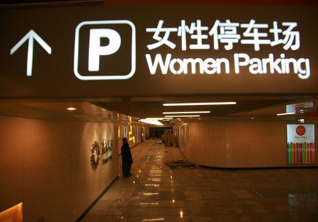 En Chine, des places de parking réservées aux femmes font polémique