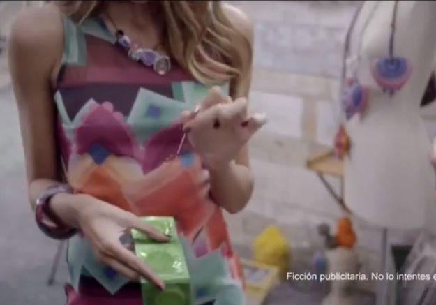 En Espagne, Desigual fait scandale en perçant des préservatifs