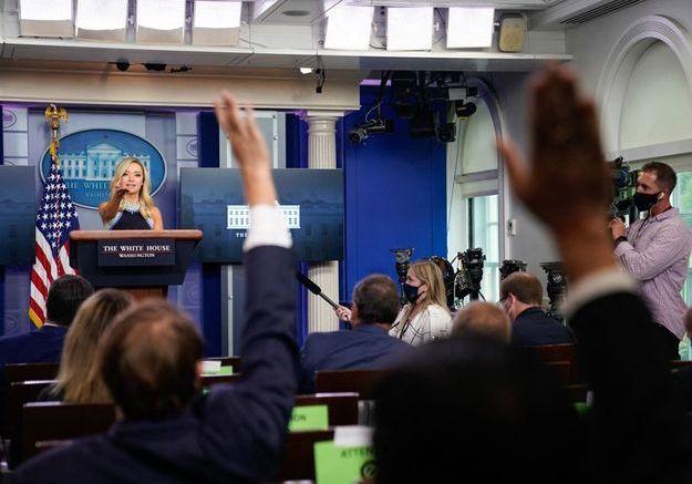 Etre correspondant à la Maison-Blanche n'était pas censé être un job dangereux, jusqu'au Covid-19