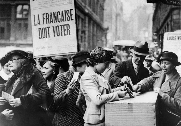 Il y a 70 ans, les premières femmes députées étaient élues à l'Assemblée