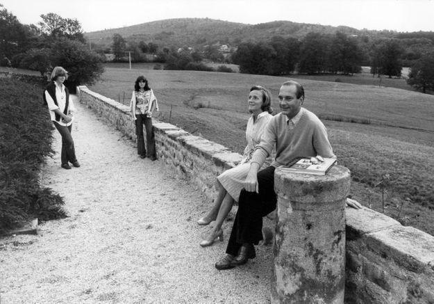 Jacques Chirac et sa fille Laurence réunis pour l'éternité