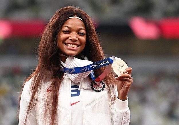 JO 2021 : Gabby Thomas, diplômée d'Harvard et médaillée olympique