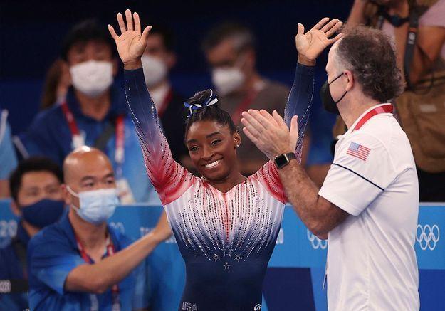 JO 2021 : Simones Biles, de retour, décroche la médaille de bronze