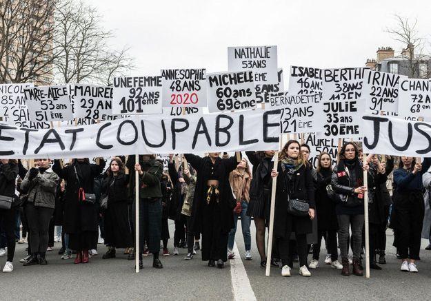 Journée internationale des droits des femmes : Adèle Haenel et Céline Sciamma présentes à la marche