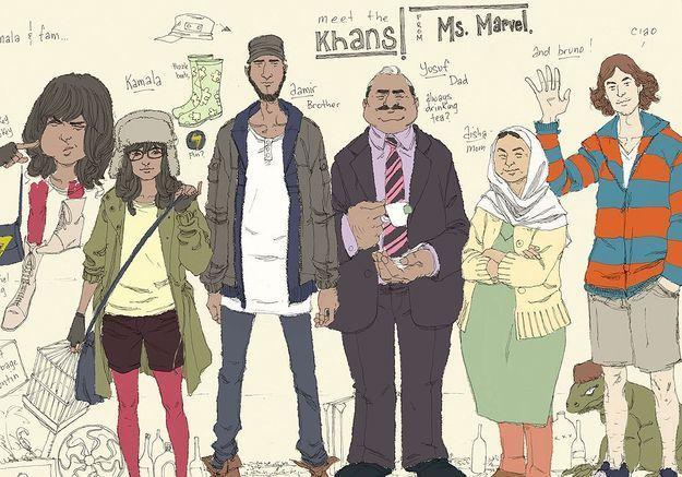 Kamala Khan, la super-héroïne musulmane de Marvel