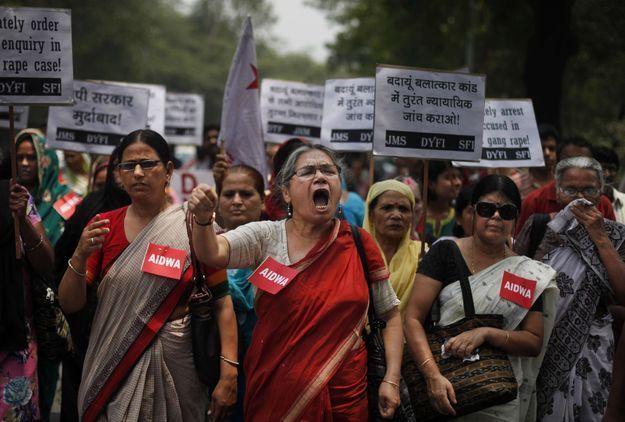 L'Inde scandalisée par le viol collectif de deux adolescentes