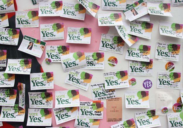 L'IVG officiellement légalisée en Irlande
