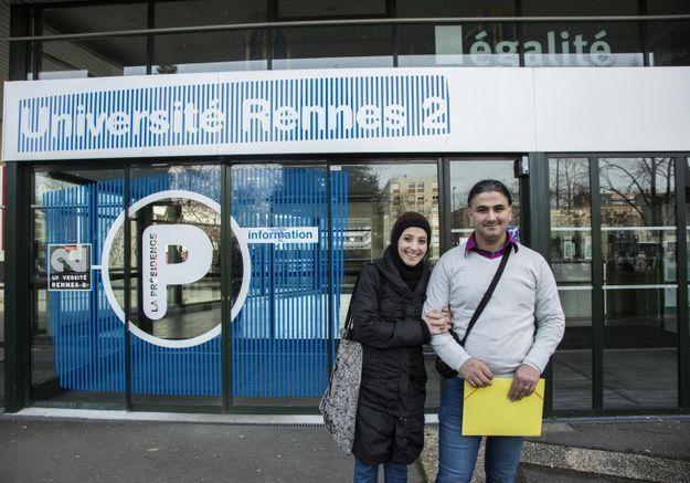 La nouvelle vie de Joude, Aya et leur fille après avoir quitté la Syrie