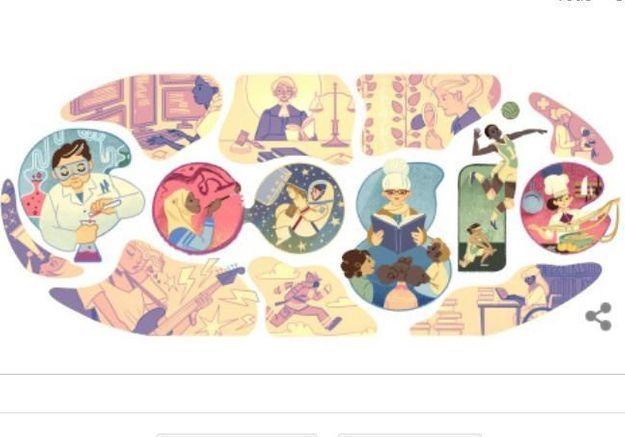 Le Doodle motivant de Google pour la Journée de la Femme