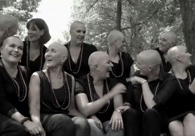 Le formidable geste de 11 femmes face au cancer de leur amie