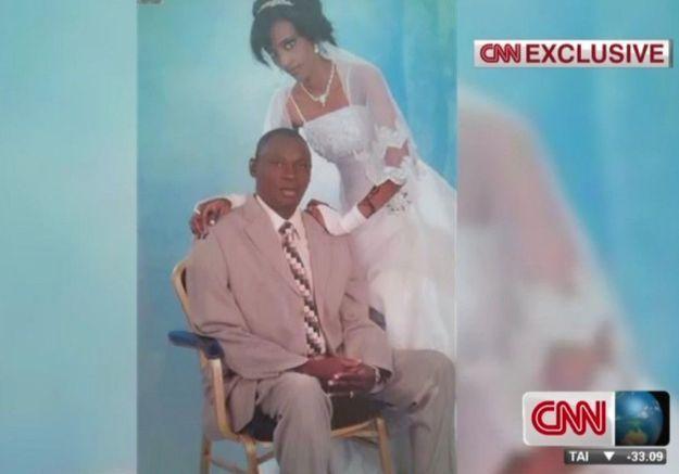Le mari de Meriam, condamnée à mort, a rendu visite à son bébé en prison