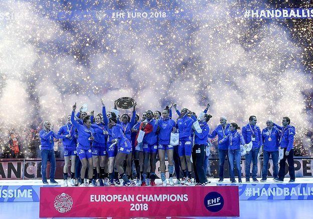 Les handballeuses championnes d'Europe : « Ma fille me donne de la force »
