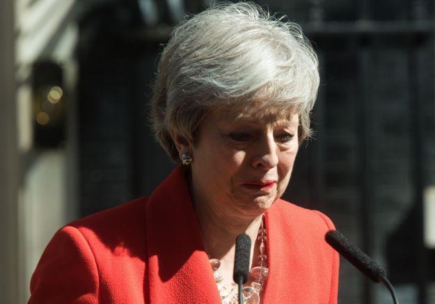 Les larmes de Theresa May
