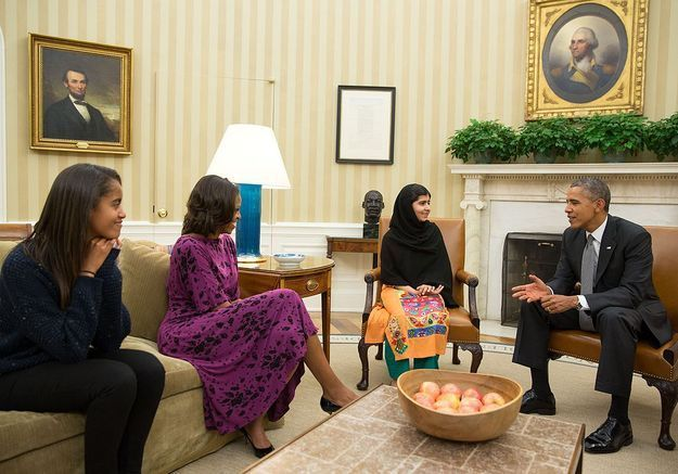 Malala et Malia Obama parmi les ados les plus influentes