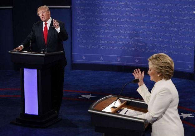 « Méchante femme » : Trump ne peut décidément pas s'en empêcher