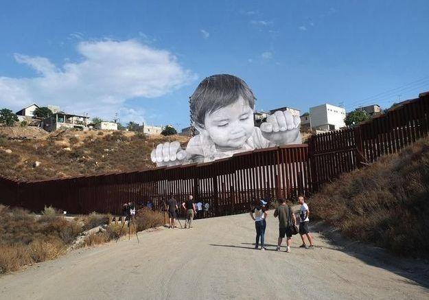 Mexique : le Trump-l'œil de JR