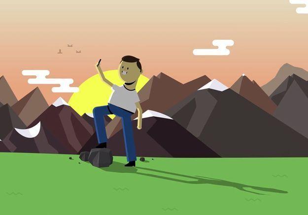 Mr. Selfie incarne notre addiction aux smartphones dans un court-métrage