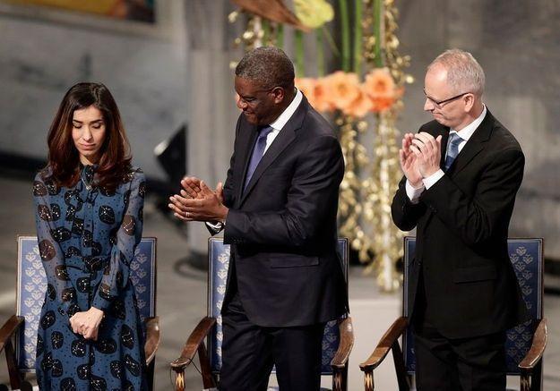 Nadia Murad et Denis Mukwege : un Nobel et toute notre admiration