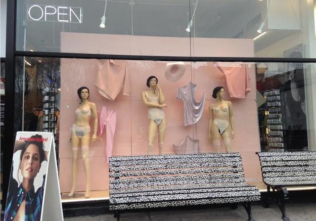 New York : les mannequins non épilés d'American Apparel