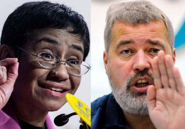 Nobel de la paix : les journalistes Maria Ressa et Dimitri Muratov récompensés