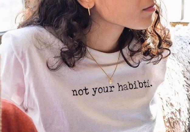 « Not your habibti » (Pas ta chérie !) » : le slogan choc d'une créatrice contre le harcèlement de rue