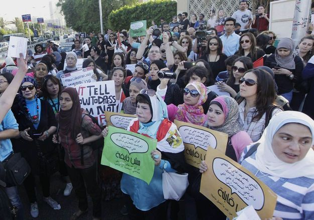 Premier procès pour viol en réunion en Egypte