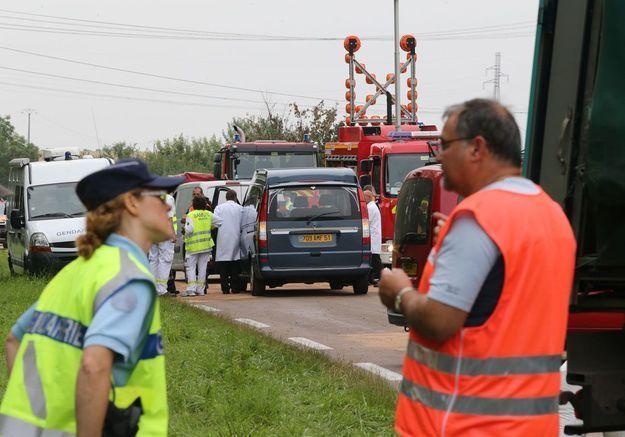 Grande émotion après la mort de 5 enfants dans un accident de la route